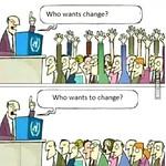 The change we need