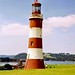 Smeaton's Tower, Plymouth Hoe, Devon, 30th June 1993