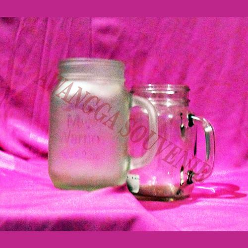 gelas jar fros embos