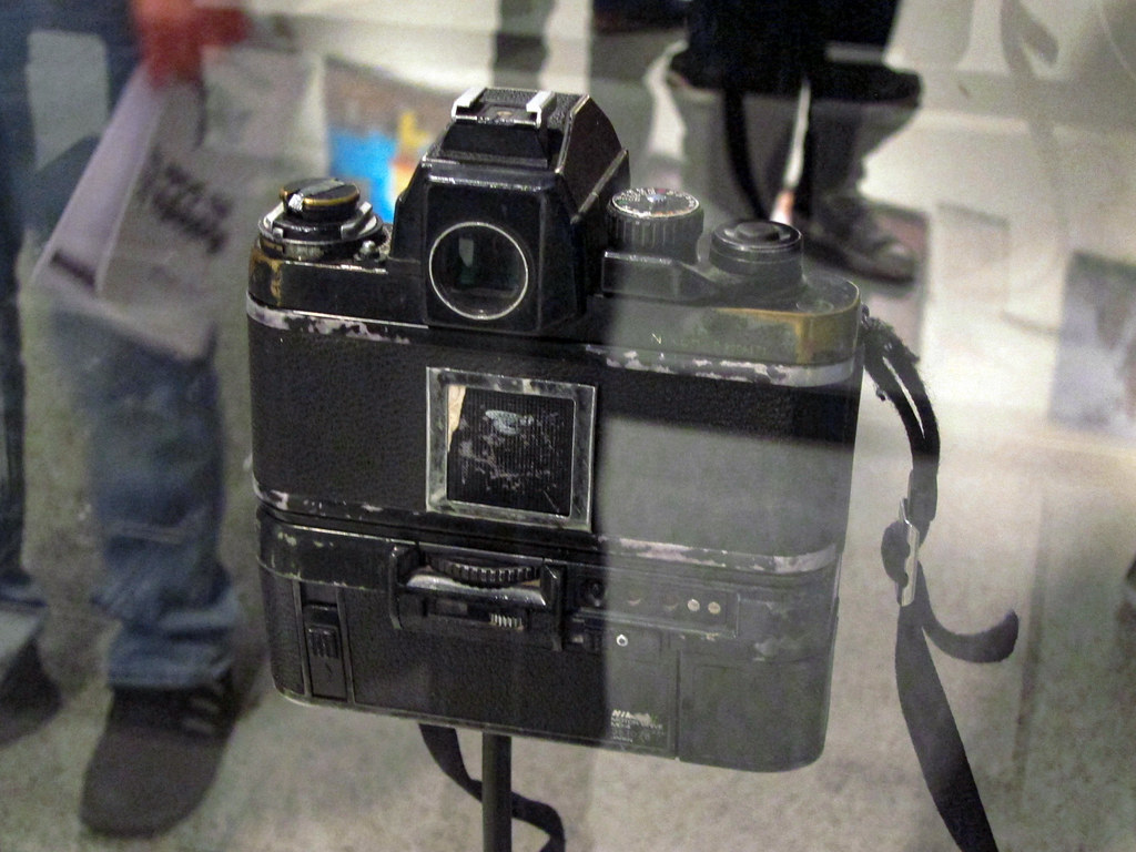 Cameras that took Pulitzer prize-winning photos
