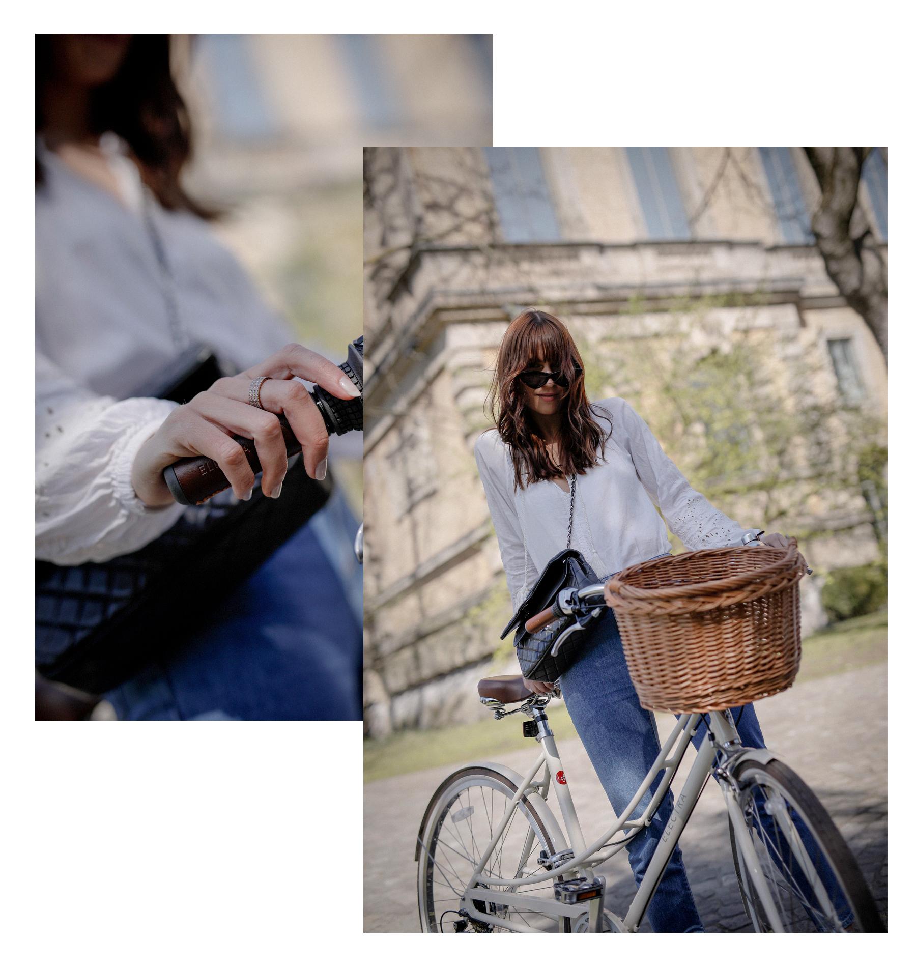 electra bike bicycle fahrrad spring frühling radeln biking loft 7d creme electrabikes catsanddogsblog ricarda schernus modeblog lifestyle blogger styleblog lifestyleblog cats&dogs styleblogger max bechmann fotografie film düsseldorf 2