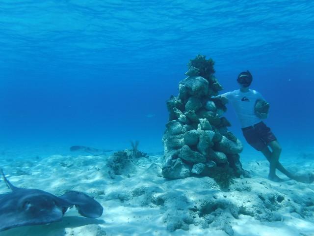 Eli's Underwater Cairn