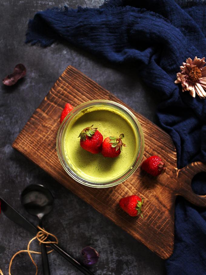 全素抹茶幕斯杯 vegan-matcha-mousse-pots (15)