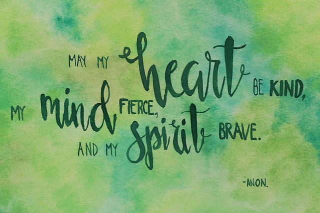 Heart, Mind, Spirit (SOTC 275/365)