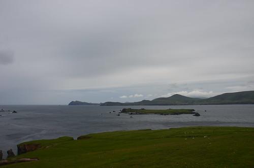 Blick nach Westen von der Spitze der Insel
