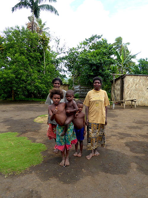 Ni-Vanuatu communities generally survive on subsistence farming, and natural disasters cause massive disconnectionwithin their communities.