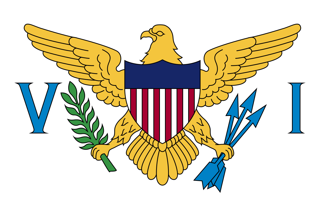Flag of the Virgin Islands of the United States