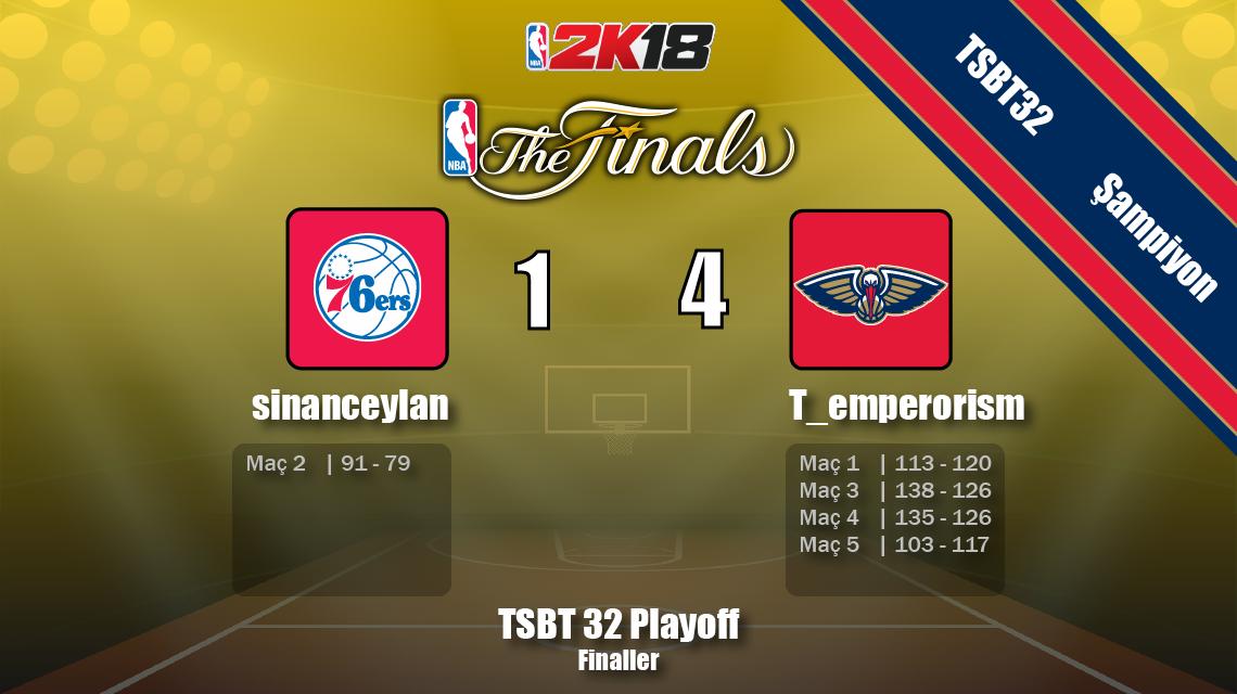 TSBT 32. sezon şampiyonu T_emperorism