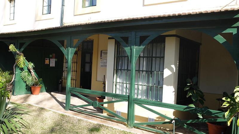 Casa típica en el barrio inglés de Riotinto