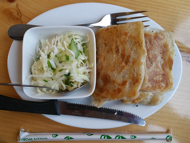 2018-Apr-8 Amay's House - Keema Prata (chicken)