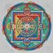 Mandala of Medicine Buddha by m e sweeney