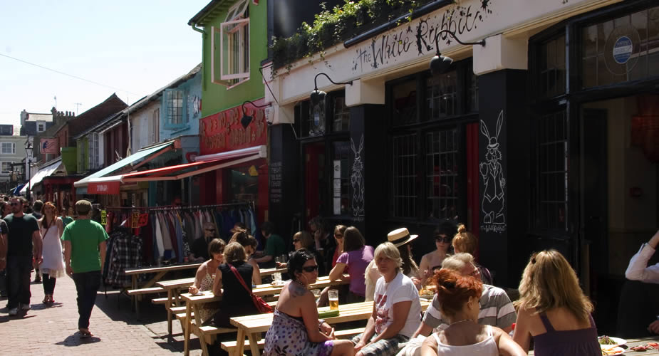 Brighton, Engeland. Bezoek The Lanes | Mooistestedentrips.nl