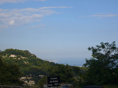 Saint-Sauveur, Menton seen from Viaduc du Gorbio [29.07.2011]