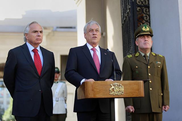Presidente Piñera designa General Director de Carabineros. |14-03-18