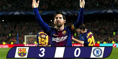Barcelona Berhasil Ke Perempat Final Setelah Menghajar Chelsea Di Camp Cou
