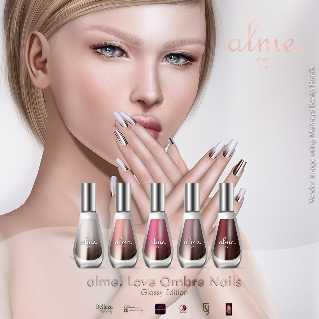 """Glossy Love Ombre"" available at Tres Chic! - TeleportHub.com Live!"