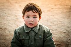 An boy