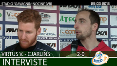 Virtus V.-Cjarlins del 25-03-18