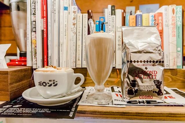 北海道 釧路美食-超濃杏仁牛奶.老牌文青超小咖啡廳:喫茶ボロンジ
