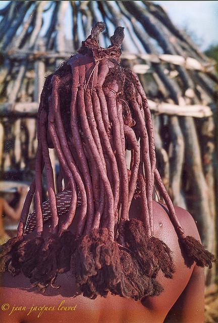 Les tresses Himba Kaokoland