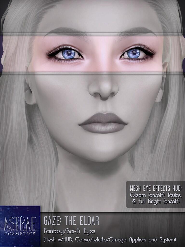 Astrae . Gaze The Eldar . Eyes Poster - TeleportHub.com Live!