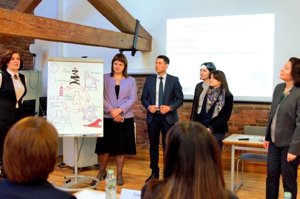 «HR-менеджер как бизнес-партнер» для ПАО «НК «Роснефть»