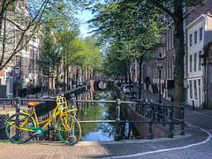 Yellow Bike - Amsterdam