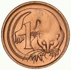 Australia 1c 1966