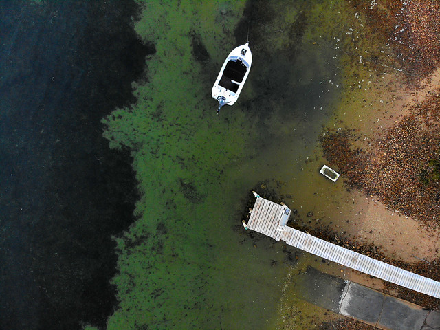 boat and  jetty