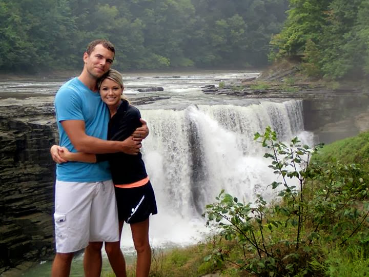 Derek and Lisa at National Park