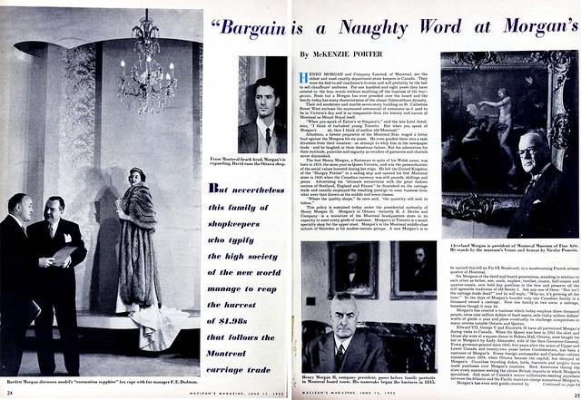 macleans 1953-06-15 morgans spread
