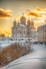 Dormition Cathedral - golden