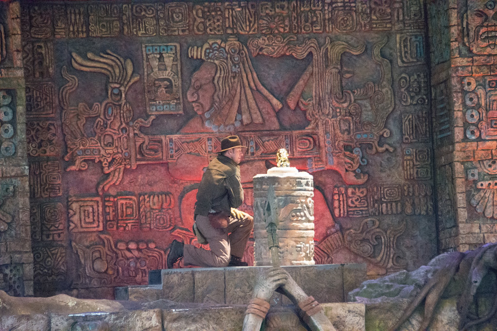 Indiana Jones show at Hollywood Studios