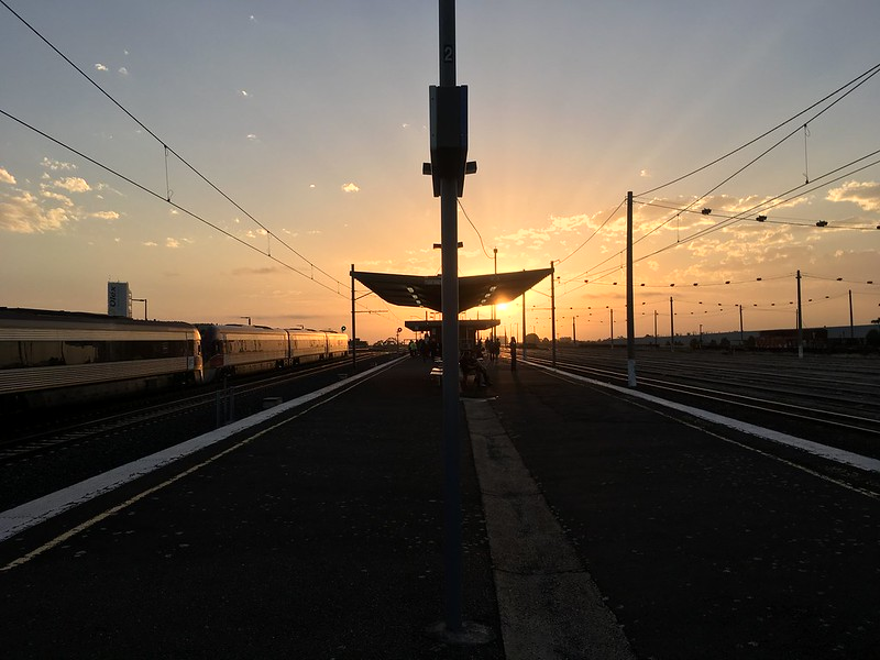 Platform Sunset