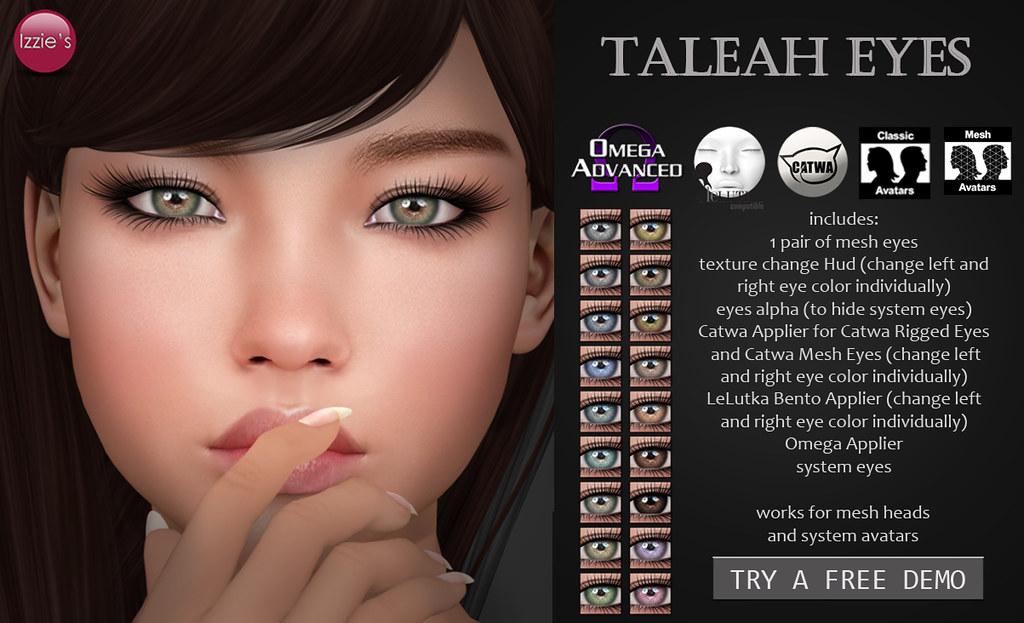 Taleah Eyes - TeleportHub.com Live!