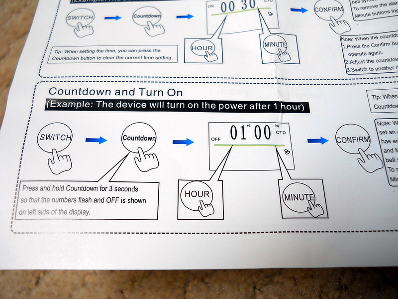 Power strip with digital timer - Reef Central Online Community
