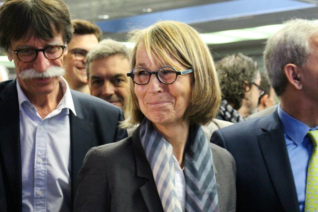 Visite de la ministre de la Culture, Françoise Nyssen