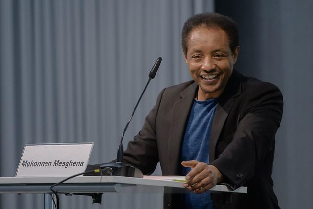 Mekonnen Mesghena (Referent Migration & Diversity der Heinrich-Böll-Stiftung)Foto: stephan-roehl.de