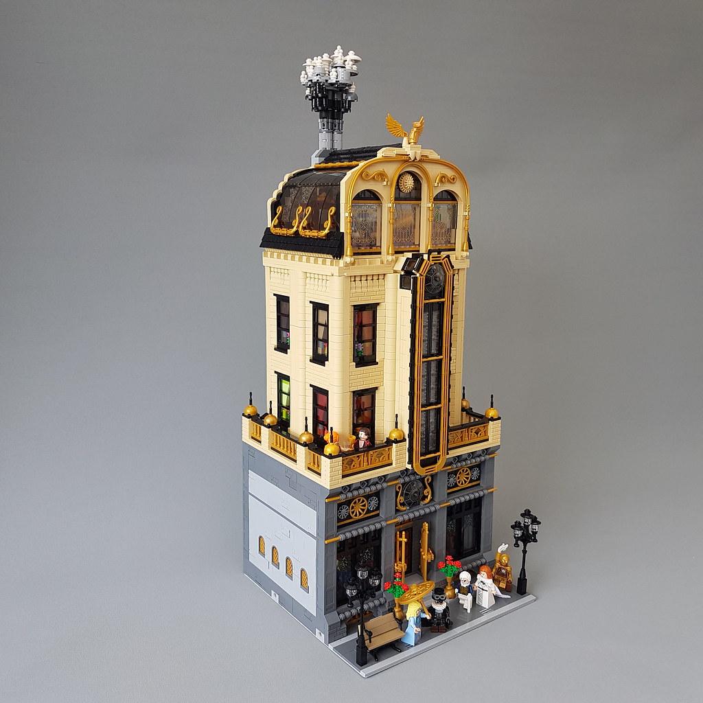 The Wyvernstone family mansion
