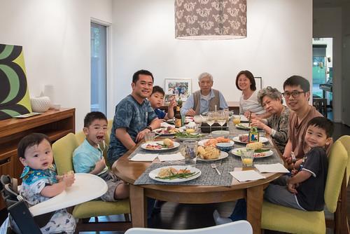 , Big Family Dinner 2, Family Blog 2020, Family Blog 2020