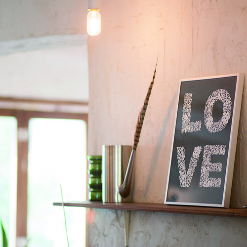 Papercut Wall Art - Love