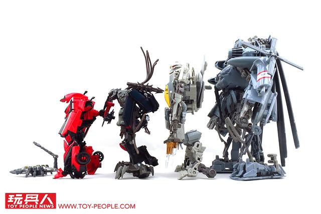 狂霸寰宇的毀滅兵士、戰場突入! 孩之寶變形金剛「電影工作室系列」開箱報告《上篇‧狂派特集》