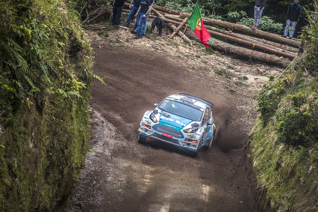 20 REGO Luis Miguel (prt), HENRIQUES jorge( (prt), FORD FIESTA R5 , action during the 2018 European Rally Championship ERC Azores rally,  from March 22 to 24, at Ponta Delgada Portugal - Photo Gregory Lenormand / DPPI