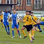 Mildenhall Town FC v Barking FC - Saturday March 24th 2018