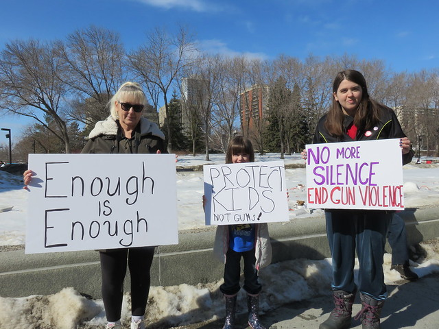 March For Our Lives - Edmonton Solidarity Event