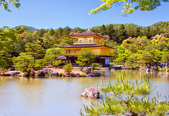 Kinkakuji (Golden Pavilion), Kyoto, Japan