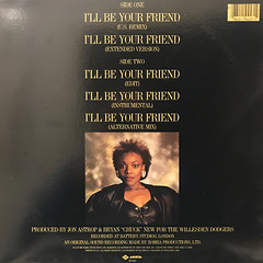 PRECIOUS WILSON:I'LL BE YOUR FRIEND(JACKET B)