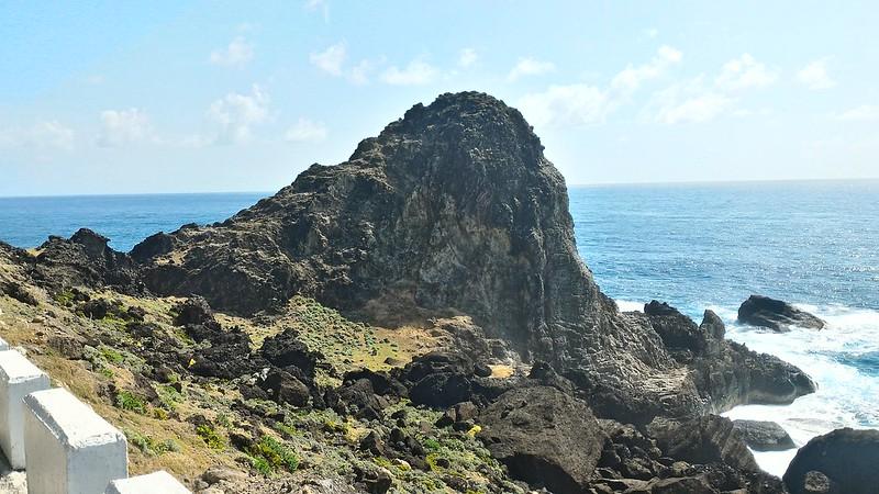 蘭嶼-象鼻岩