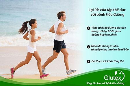 Tập luyện thể dục thường xuyên mang lại nhiều lợi ích cho người tiểu đường