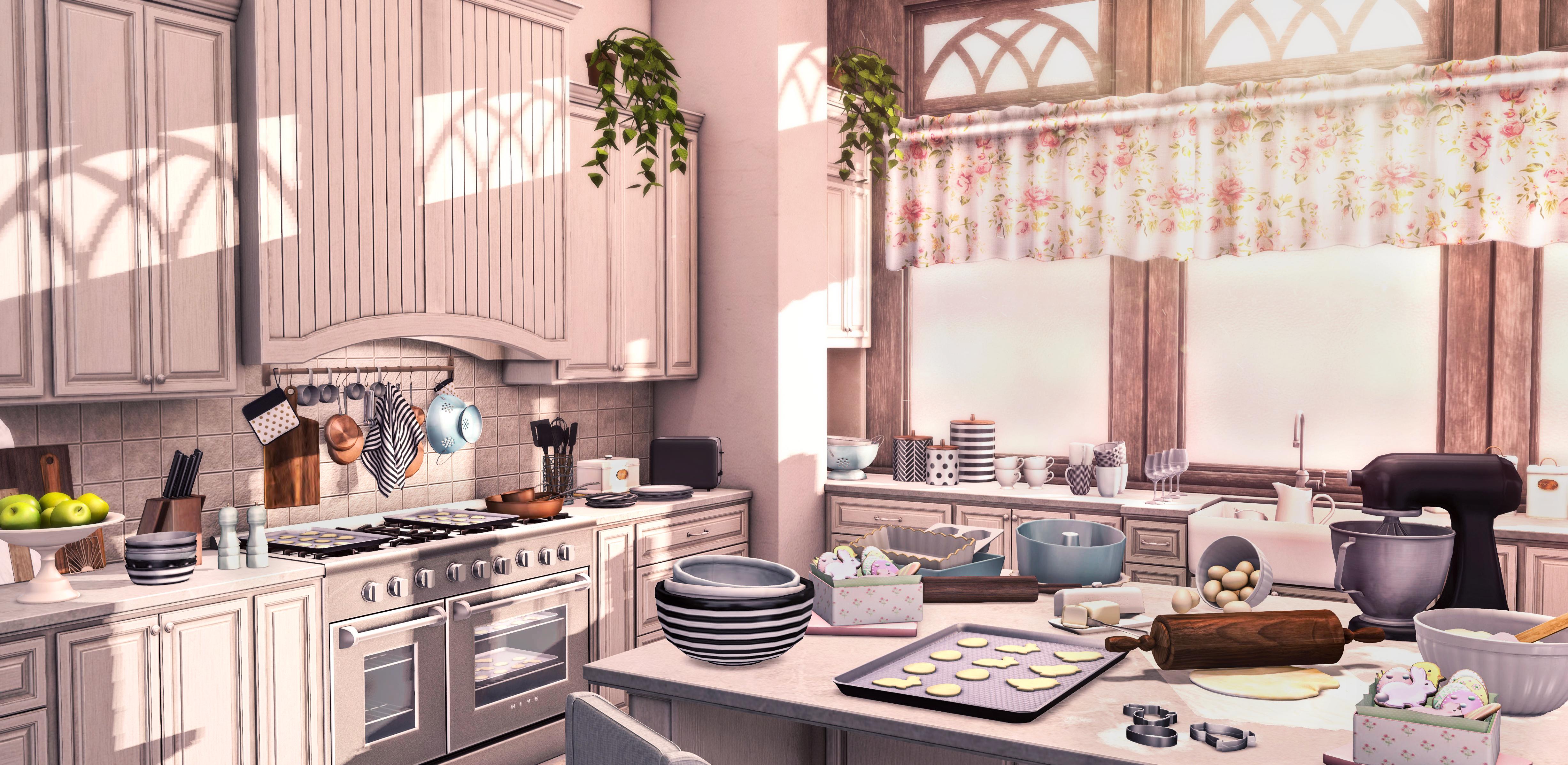 Spring Kitchen.
